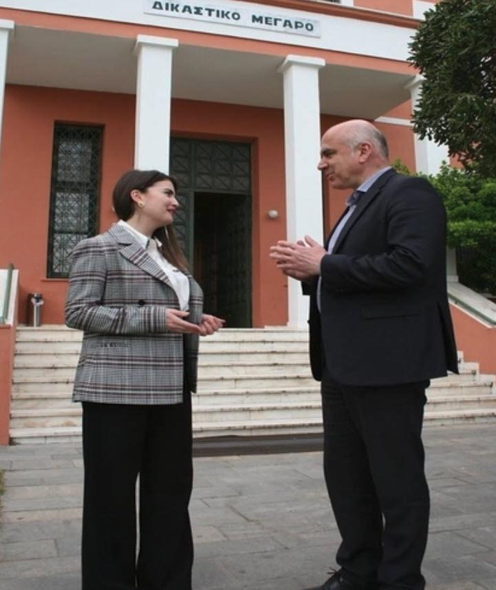 margarita goudetsidou xrhstos metios 3 - Υποψήφια με τον Χρήστο Μέτιο η δικηγόρος Μαργαρίτα Γουδετσίδου