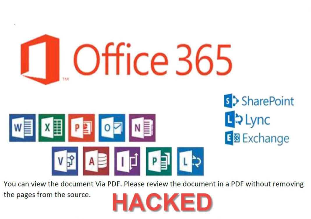 Officce 365 - Υποκλοπή λογαριασμών.