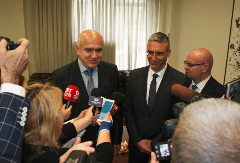 metios tourkos presvhs 03 1024x695 - Συνάντηση του Περιφερειάρχη ΑΜΘ με τον Πρέσβη της Τουρκίας στην Αθήνα