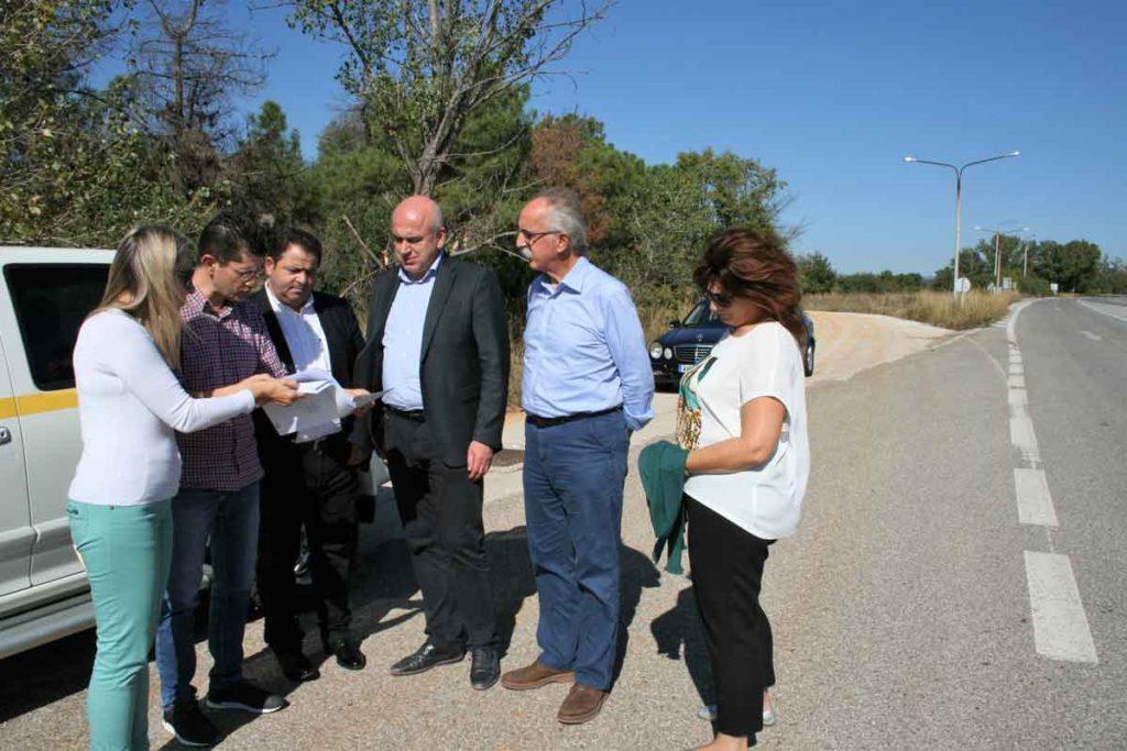 metios asfaleia dromoi periferia 03 1024x683 - 6,4 εκατομμύρια για την οδική ασφάλεια της Εθνικής Οδού από την Περιφέρεια ΑΜΘ.