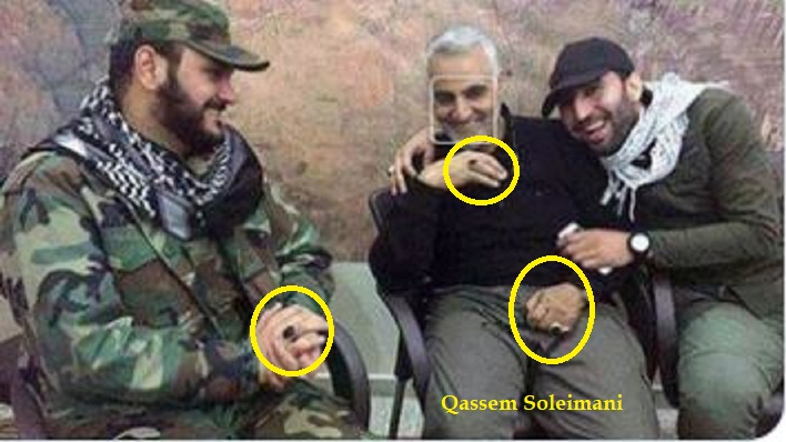 Soleimani associates wear same ring - Coronavirus: All the Truth That Wouldn't Tell You in Systemic Media