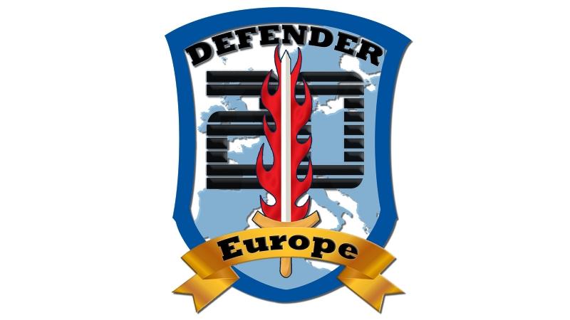 defender europe flag - 20.000 στρατιώτες φτάνουν για να «καθαρίσουν» τον κορονοϊό