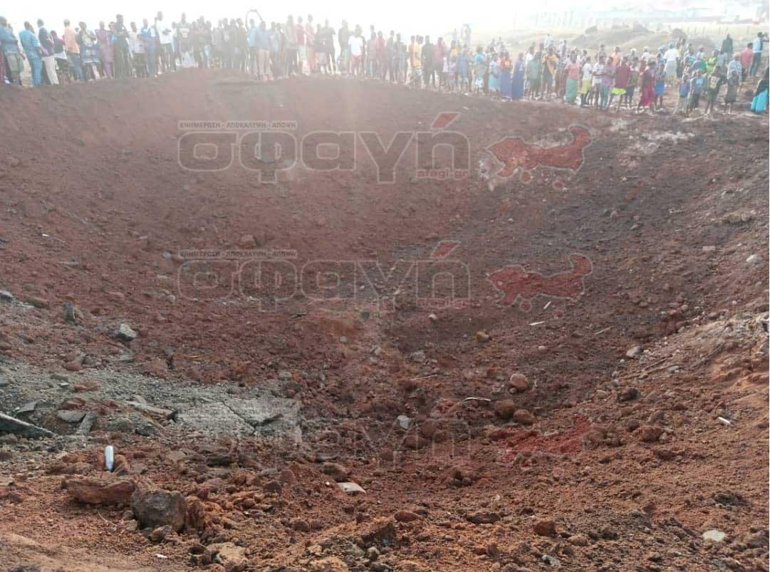 nhghria oto akure ekrhxh04 - Παράξενη έκρηξη στην Νιγηρία τρομοκράτησε τους κατοίκους