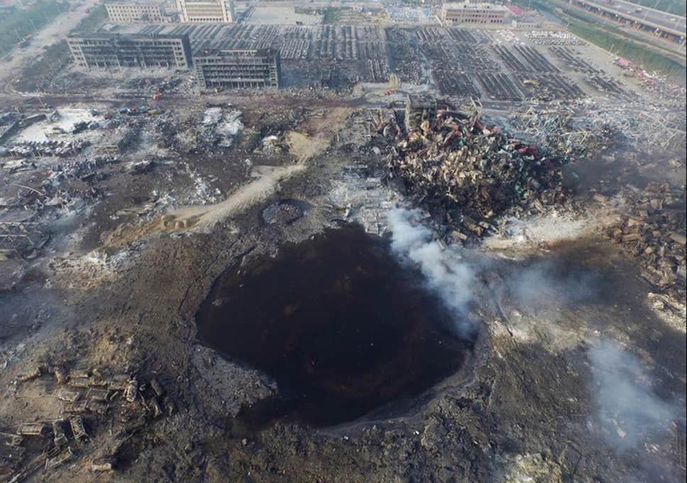 tianjin crater - Coronavirus: All the Truth That Wouldn't Tell You in Systemic Media