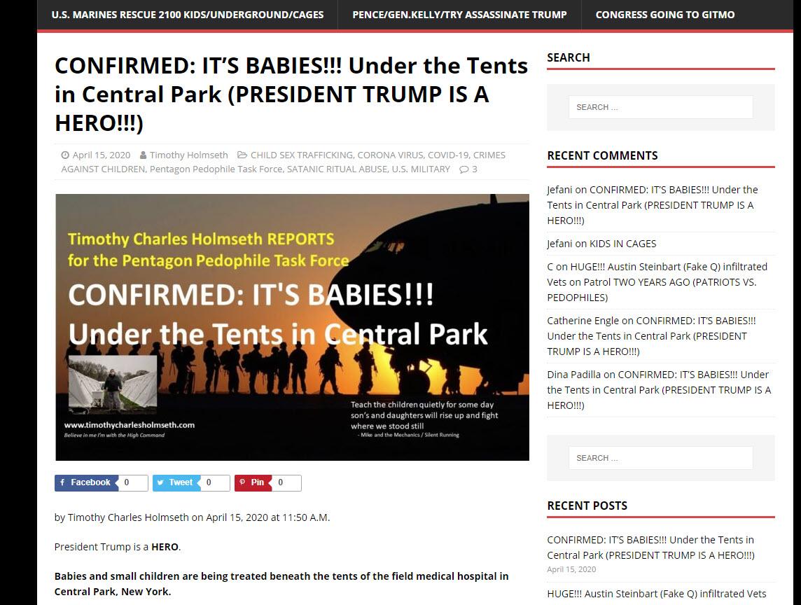 timothy holmseth babies central park - Οι διασώσεις των παιδιών στην Νέα Υόρκη είναι γεγονός !
