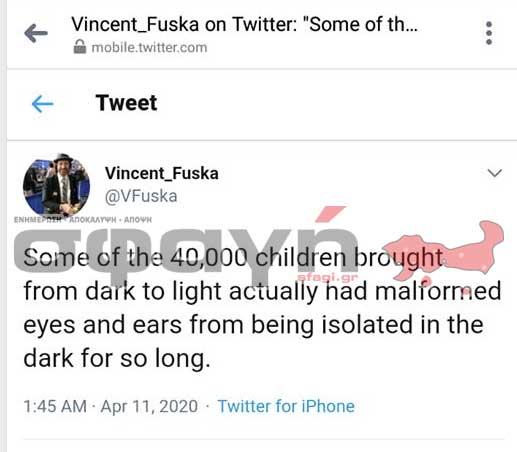vincent fusca - Ο Δεμερτζής Γιάννης, μιλάει για τον Κορωναϊό την καταιγίδα (VIDEO).